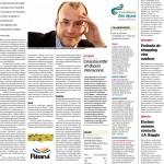 Matéria sobre branding: Para estimular turismo, Paraná cria 11 marcas - No Jornal da Gazeta do Povo, contando com entrevista de José Roberto Martins.
